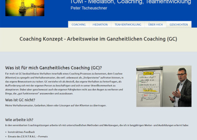 Screenshot TOM Coaching & Moderation